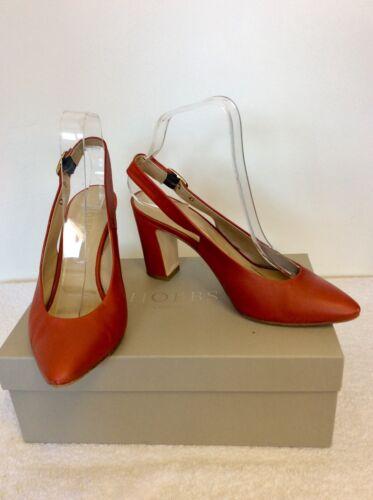 Nutmeg Size Slingback Hobbs 5 £169 38 Heels Leather Cost PIxqd