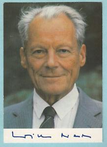 Autogramme & Autographen Brandt Willy 6-1/0617 Angenehm Bis Zum Gaumen Sammeln & Seltenes