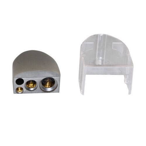 A4A NC Shipping 0//2//4//8 AWG Gauge Negative Battery Terminal Gold Plated BT-035G