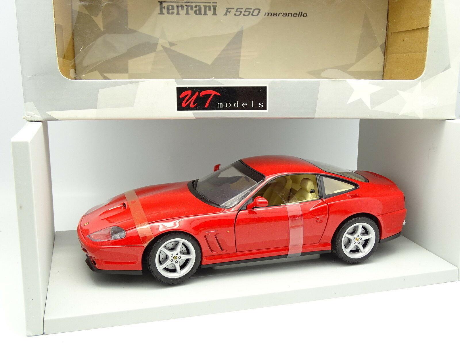 UT Models 1 18 - Ferrari F550 Maranello Rouge