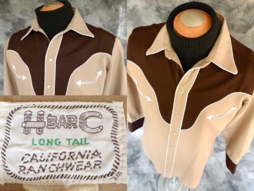 ✰CLASSIC Vintage H BAR C California RANCHWEAR WEST