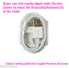 100% Original 30-pin to USB Data Sync Cable/Charge for Apple iPhone 4 4S 3GS