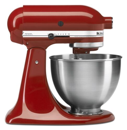 Brand-New-kitchenAid-Stand-Mixer-Tilt-4-5-Quart-ksm8-All-Metal-Many-Colors