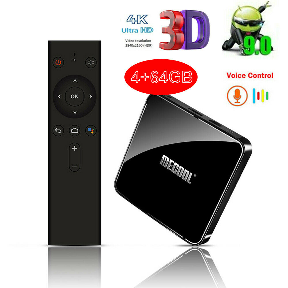 MECOOL KM3 S905X2 Android 9.0 Quad Core 4K Smart BT Dual WiFi 4+64G TV Box Q3F5 android box core dual km3 mecool quad s905x2 smart wifi