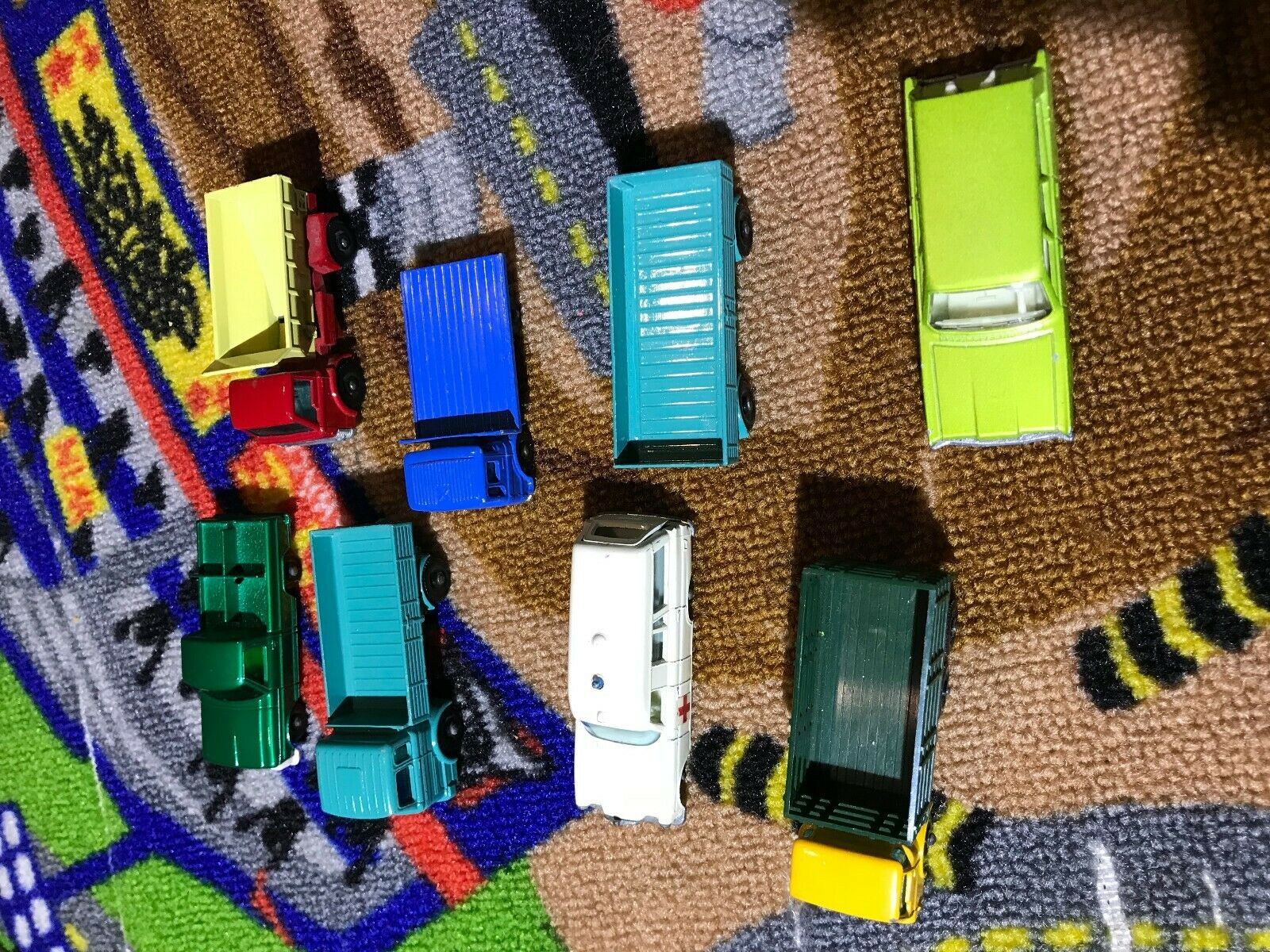 Vintage Matchbox Lesney lot de 8