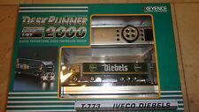 KEYENCE DESK RUNNER 2000 1/87 SCALE NEW IN BOX NIB MICRO RC TRAILER TRUCK MINI