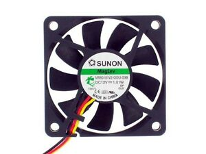 Sunon-MB60101V2-000U-G99-60mm-x-60mm-x-10mm-Vapo-Bearing-Fan-3Pin