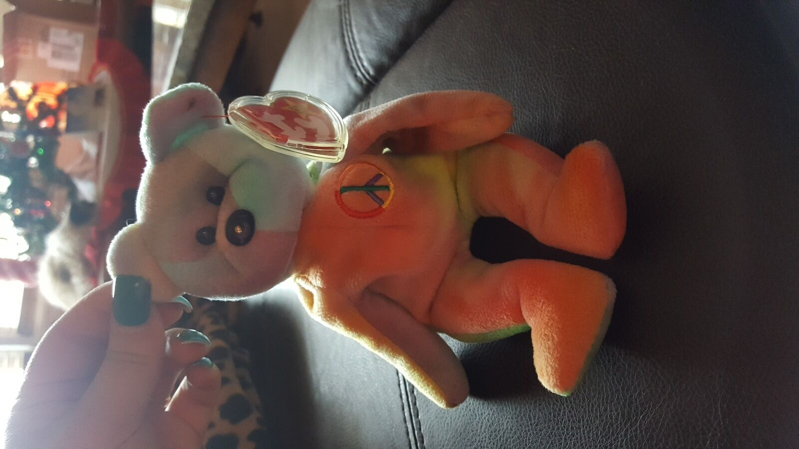 Peace  collectable collectable collectable Beanie Baby 9a1ace