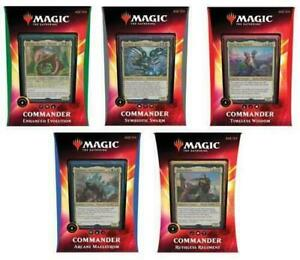 MTG-Commander-2020-Decks-Set-of-5-Ikoria-Lair-of-Behemoths-Brand-New