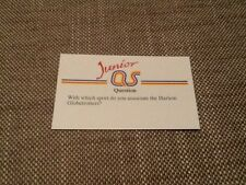 Harlem Globetrotters basketball / Junior A Question of Sport game card 1990 #103