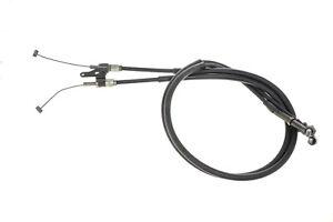 HONDA-VFR750P-OEM-PUSH-PULL-THROTTLE-CABLES-AND-BRACKET-MV8-920