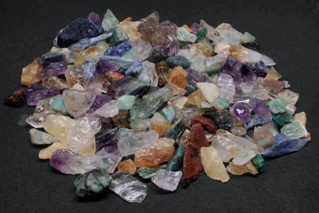 Tiny Stone Mix 1/4 Lb Lots Natural Micro Gems Crystals Minerals Specimens