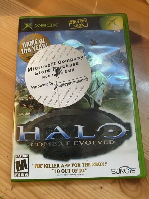 Halo: Combat Evolved (Microsoft Xbox, 2001)M