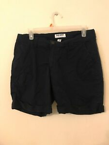 0f93d76f406 Image is loading Womanscasual-Shorts-Size-8-By-Old-Navy-Navy-