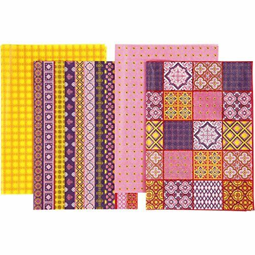 16 x Decoupage Papers 25cm x 35cm Choose from Pack 1 or Pack 2