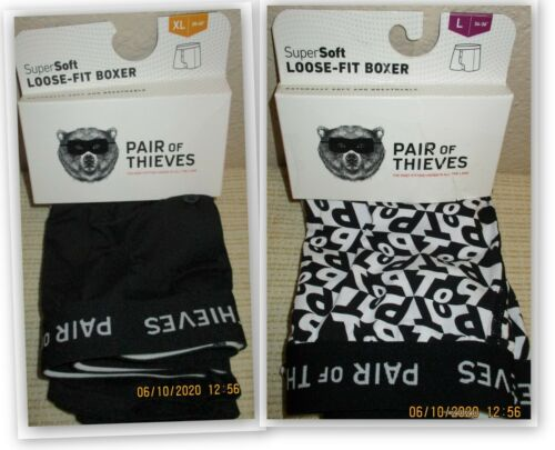 Pair Of Thieves Super Soft LOOSE FIT BOXERS UNDERWEAR ~ 1 PAIR