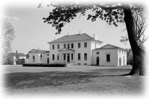 Riversdale, the Calvert Mansion - architectural house plans, colonial America