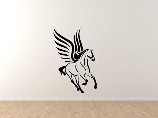 Greek Mythology - Pegasus Winged Horse Version 1 - Vinyl Wall Decal