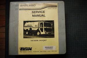 elgin whirlwind l le street sweeper operator service repair parts rh ebay com Elgin Pelican Sweeper Manual Elgin Street Sweepers