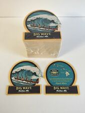Kona Brewing Company Beer Coasters Big Wave Golden Ale 50 Pack - NEW & F/Shippin