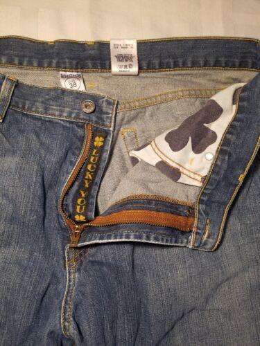 38 Brand 33 Droite 165 Lucky Moyenne Jambe Homme X Bleu Coton Style Jeans Sz wq0x6TaSq1