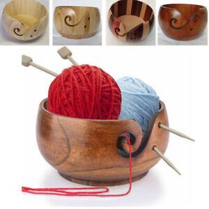 Wooden-Yarn-Storage-Bowl-Crochet-Skeins-Wood-Yarn-Holder-Organizer-For-Knitting