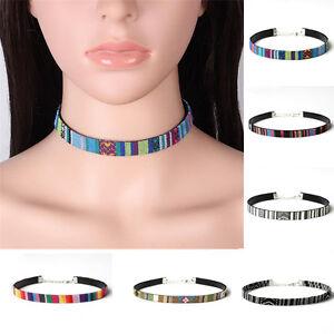 Bohemian-Ethnic-Retro-Style-Collar-Choker-Statement-Bib-Embroidery-Necklace