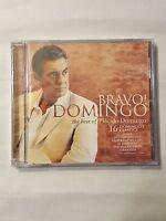 Domingo - Bravo The Best Of Placido Domingo Audio Cd - 16 Domingo's Classics