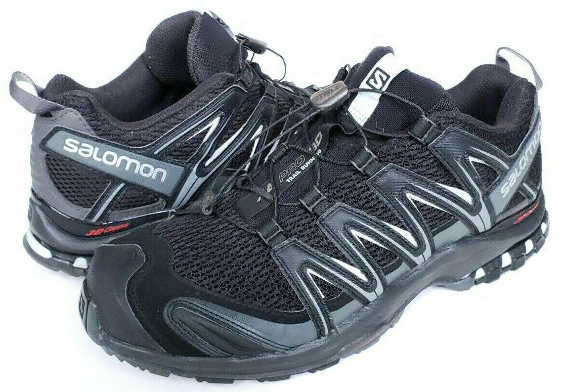 6e66e01e Salomon XA Pro 3D Hiking Trail Running Outdoor Shoes Men's Size 11  Black/Magnet
