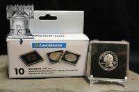 50 ✯ Standing Liberty Quarter Coin Snap Capsule 24mm Lighthouse Quadrum 2x2 Case