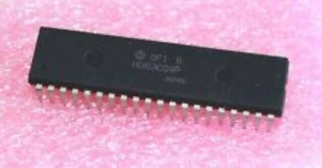 HITACHI HD63C09P DIP-40 8-Bit Microprocessor