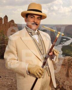 Poirot-TV-David-Suchet-034-Agatha-Christie-039-s-Hercule-Poirot-034-10x8-Photo