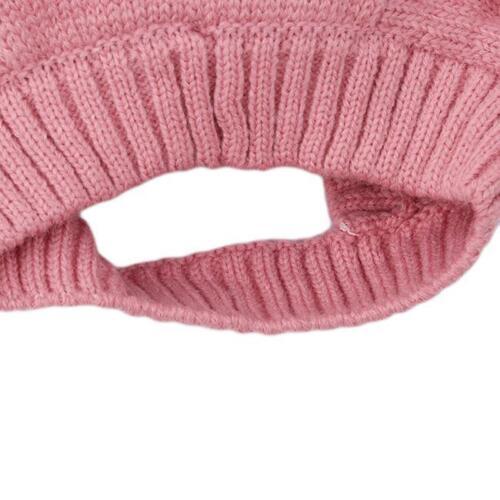 Cute Rabbit Ears Beanie Knit Hat Baby Infant Toddler Kids Cap Warm Winter FW