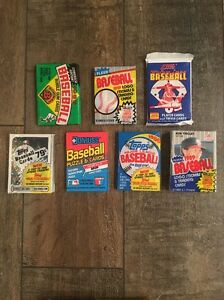 100-Card-Vintage-Lot-6-Unopened-1989-Baseball-Packs-Ken-Griffey-Jr-GEM-Rookie