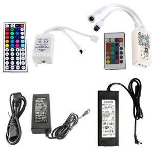 Controleur-Telecommande-Alimentation-Variateur-LED-Transfor-RGB-Lampe-Lumiere