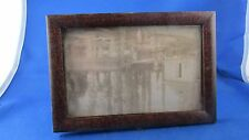 ancien petit cadre porte photo en bois a poser ou suspendre epoque 1900