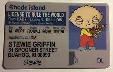 Stewie Griffin - Drivers License - Novelty