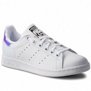 Sur Femmes Shoes Adidas Aq6272 Chaussures Pour Blanc Smith Stan J Sneakers Détails Mirroir f6vIbmgYy7