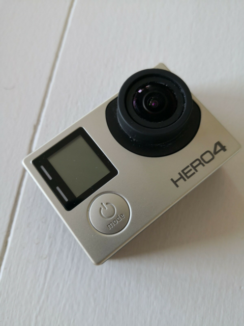 Actioncam, digitalt, Gopro, 4 Silver, God, Super godt…