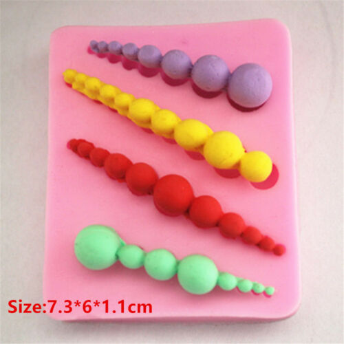 Beads Tower Silicone Cake Fondant Cookie Biscuit Chocolate Mold Decorate Tools