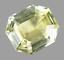 thumbnail 1 - Flawless 15.00Ct Natural Ceylon Stunning Yellow Sapphire Asscher Certified Gem