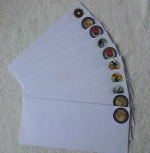 50 #10 Security Peel & Seal Envelopes with Global Forever stamps FV $60.00