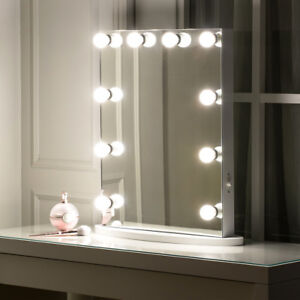 Image Is Loading Frameless Beauty Hollywood Lighted Vanity Makeup Mirror With