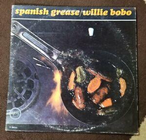 Vintage-1965-Willie-Bobo-034-Spanish-Grease-034-LP-Verve-Records-V6-8631-EX