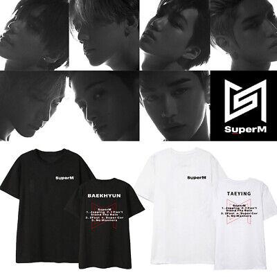 """Korean POP EXO T-shirt EX /""""Act 3rd Album T-shirt Nouveau Chen Tee même Style Unisexe En Coton"""
