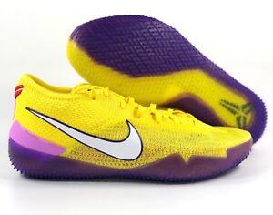 a1ace8dd7bc Nike Kobe AD NXT 360 Lakers Yellow Strike Purple White AQ1087-700 ...
