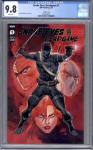 Snake Eyes: Deadgame #1  Rob Liefeld Variant IDW Comics   1st Print  CGC 9.8