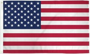 3x5-USA-50-Stars-American-UltraBreeze-5x3ft-Poly-Flag-Grommets-Super-Polyester