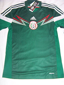 1f4c330ac Adidas Men s ClimaCool Mexico Mexican National Football Soccer Team ...