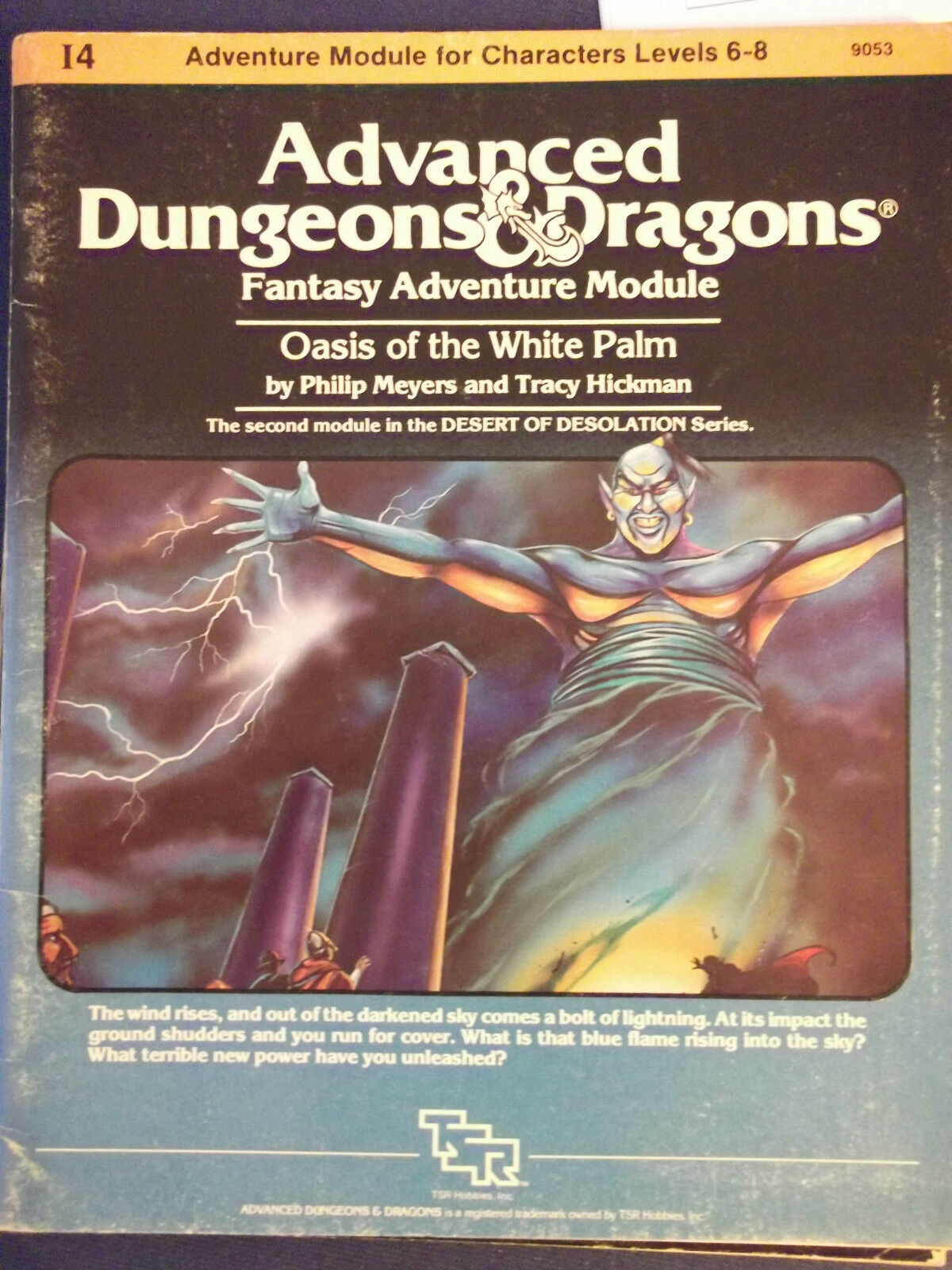 OASIS OF THE WHITE PALM - ADVANCED DUNGEONS & DRAGONS MODULE I4   DonaPerTe